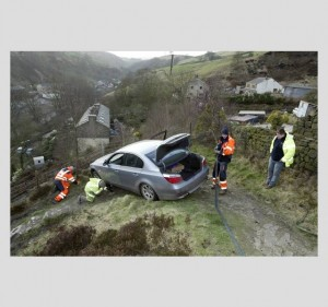 BMW nad przepaścią